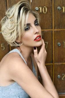 Kass Dea Beauty Photographer - Smoking Blonde