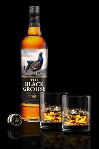 Andrew Bowen - Product Photographer - The Black Grouse Scotch